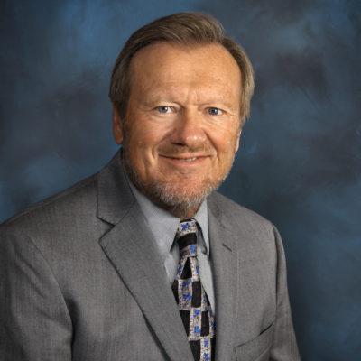 Photo of the President,  Gordon Reigstad